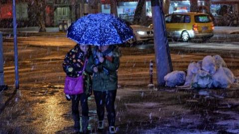 冷空气来袭!上海今冬第二场雪要来了