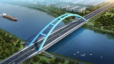 """【新时代新气象新作为】南芦公路桥拆除改建 助力大芦线航道打造""""水上高速"""""""