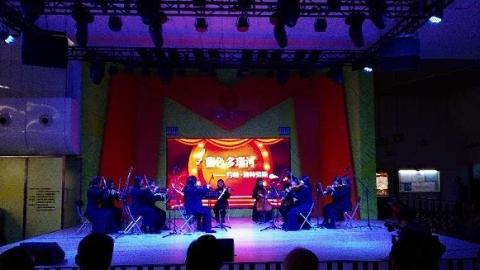 6年600场!上海地铁音乐角下午迎来第600场公益演出