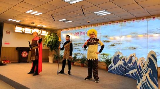 讲故事、编舞蹈、演话剧……中华神话备受学生追捧