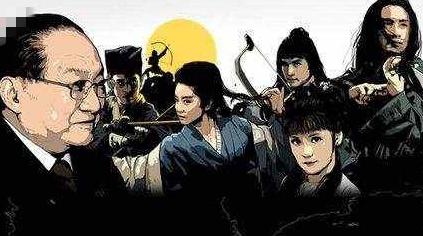 恰如其分的萧峰和符合想象的阿朱,因为金庸小说你喜欢上了谁
