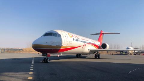 第十架ARJ21飞机交付成都航空 国产喷气客机机队初具规模