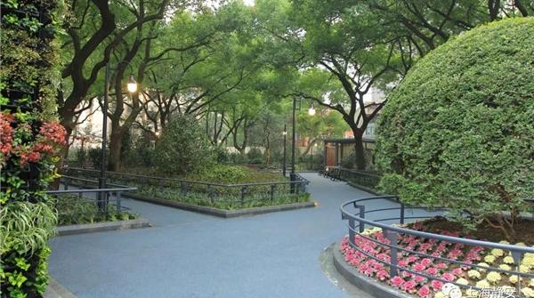 还能认出它么?静安区最袖珍公园今天重新开放
