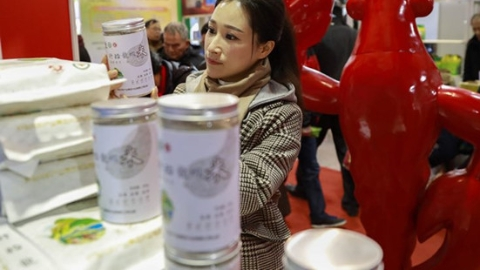 上海新春农产品大联展开幕 家门口购齐全国优质年货