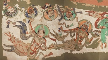 亲赴克孜尔石窟,古丝绸之路上的人类文化遗产龟兹壁画,它比敦煌早了三个世纪