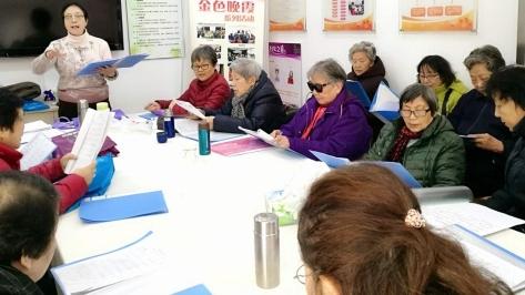 社区新发现   助老结对,这里的独居老人不孤独