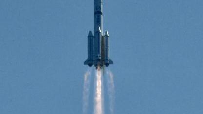 北斗三号第五第六颗星发射成功