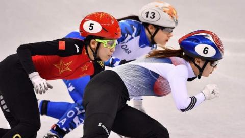 中国短道速滑半小时内竟4次被判犯规 无缘女子500米决赛