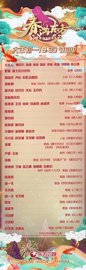 滬上春晚節目單新鮮出爐 喜劇領銜主打三大王牌圖片