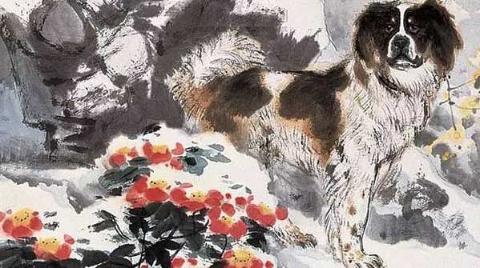 中国画中的忠犬孝公