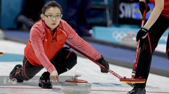 王冰玉致胜一击 中国女子冰壶队击败丹麦暂列循环赛第四