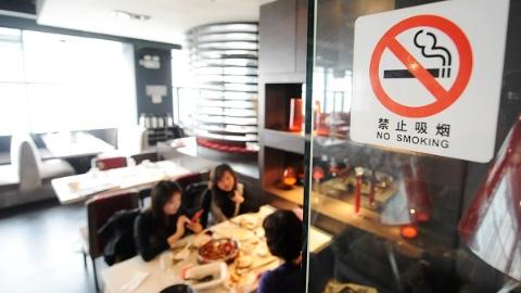 """上海食品消费领域春节举报""""重灾区"""":店内违规吸烟 未设禁烟标识"""