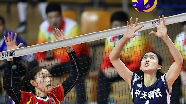 上海女排奇迹般反败为胜 3比2客场回敬江苏队