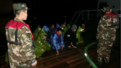 涉嫌海上走私成品油违法行为呈上升态势 上海海警连续重拳出击查获嫌疑船舶7艘