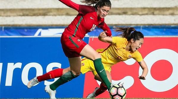 惨遭逆转!阿尔加夫杯首轮中国女足1比2不敌葡萄牙