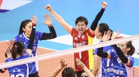 春到浦江 蕾要绽放 上海女排击败江苏闯入女排联赛决赛