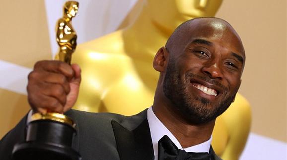 从CCTV5到CCTV6!NBA退役巨星科比荣膺奥斯卡奖