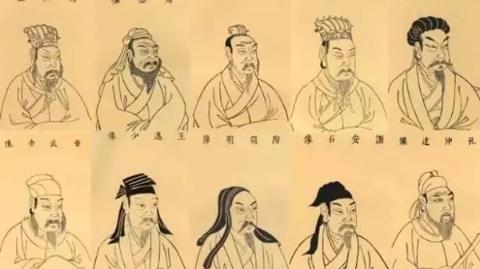 为什么历史课本里的诸葛亮和曹操长得一模一样?