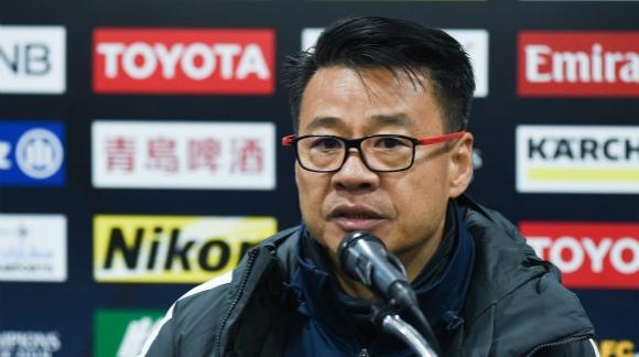 申花主帅吴金贵:艾迪表现出色 满意比赛结果
