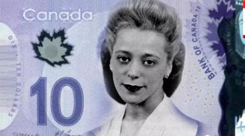 加元纸币首次印上女性头像,蒙特利尔街道也以她命名