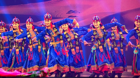 蒙古族歌舞点亮上海儿童艺术中心 小观众尽情驰骋大草原