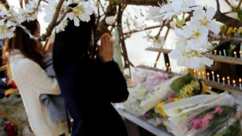 """日本""""3·11""""地震7周年:7万余人仍未返乡"""