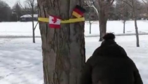 闹乌龙!明明是迎接比利时王室 加拿大竟挂成德国国旗