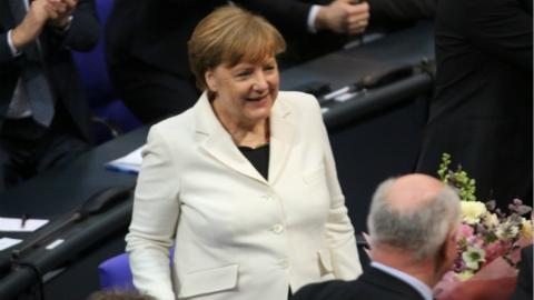 默克尔再次当选德国总理 开启第四个任期