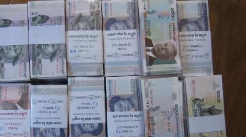 """柬埔寨货币瑞尔流通38周年 央行办""""瑞尔节""""促流通"""