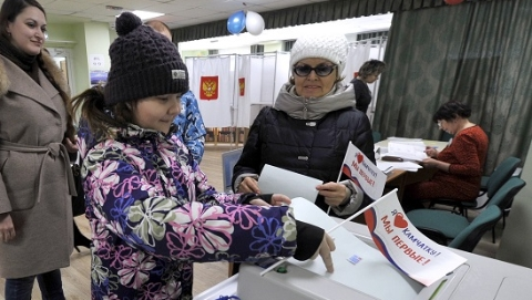 俄罗斯总统选举正式开始投票