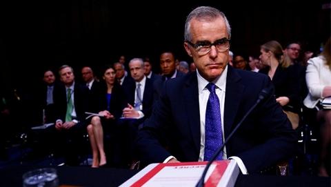 FBI副局长退休前两天被解雇 曾多次与特朗普发生矛盾