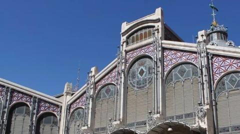 西班牙瓦伦西亚中央市场迎90岁生日