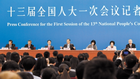 国务院总理李克强上午答记者问:为了人民利益,我们万难不辞万险不避