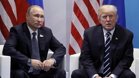 """特朗普:可能在""""不久的将来""""与普京会面"""