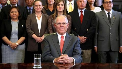 弹劾案表决前夕秘鲁总统宣布辞职