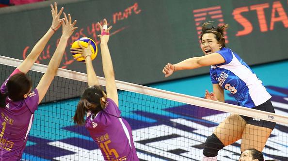女排超级联赛决赛第六场 上海遭天津逆袭 双方下周二决战
