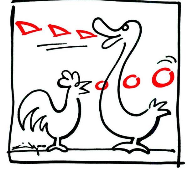 智慧快餐|鸡同鸭讲