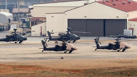 韩美启动联合军演 时长缩减为一个月