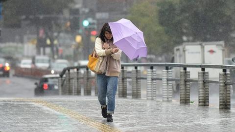 东京若遇超强台风 或有三分之一被淹