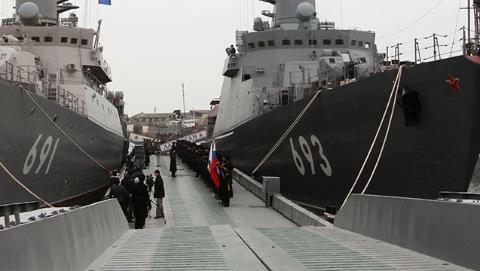 """俄里海区舰队司令部要""""搬家"""" 驻军人数将大幅增加"""