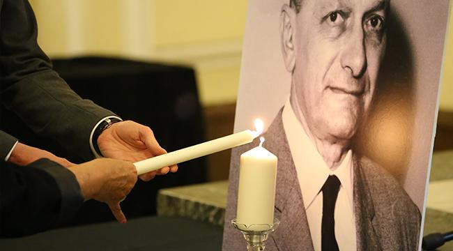 以色列驻沪领馆举行大屠杀纪念日悼念活动