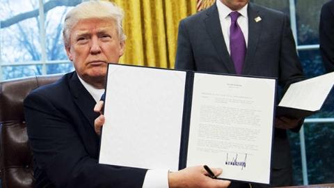 """美国要重返TPP?日本:特朗普的话""""没谱"""""""