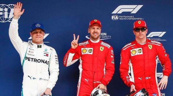 只差0.087秒!维特尔力压莱库宁夺F1中国站杆位