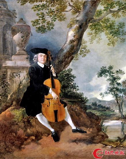 《演奏大提琴的约翰·查菲牧师》-郭新洋.jpg