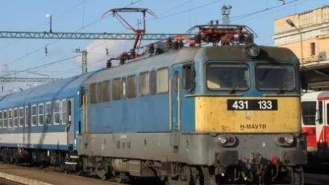 匈牙利火车晚点成常态,去年平均每15.2分钟发生一次延误