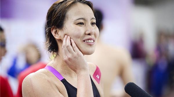 全国游泳冠军赛收获一金一铜!傅园慧:亚运名额是惊喜
