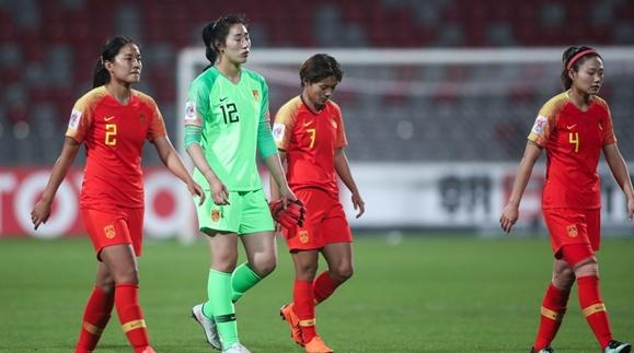 中国女足不敌日本 连续3届无缘女足亚洲杯决赛