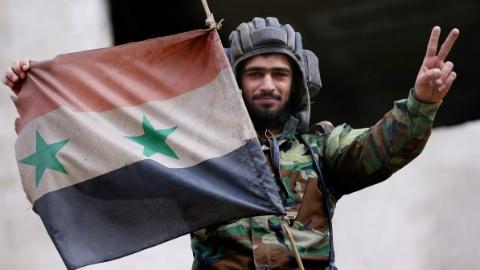 恶战六年半:叙政府军收复东古塔(一)