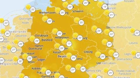 30度高温,德国迎史上最热4月