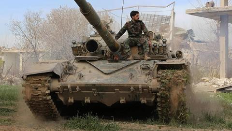恶战六年半:叙政府军收复东古塔(二)